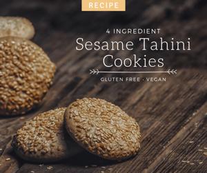 #10 Sesame Tahini Cookies A