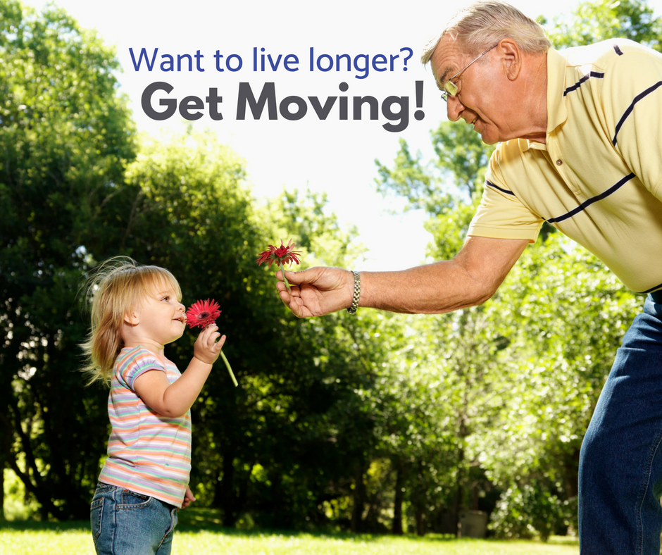 Tips to sit less and live longer