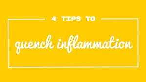 4 tips inflammation