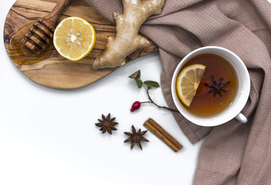 lemon-tea-with-honey-ginger-board