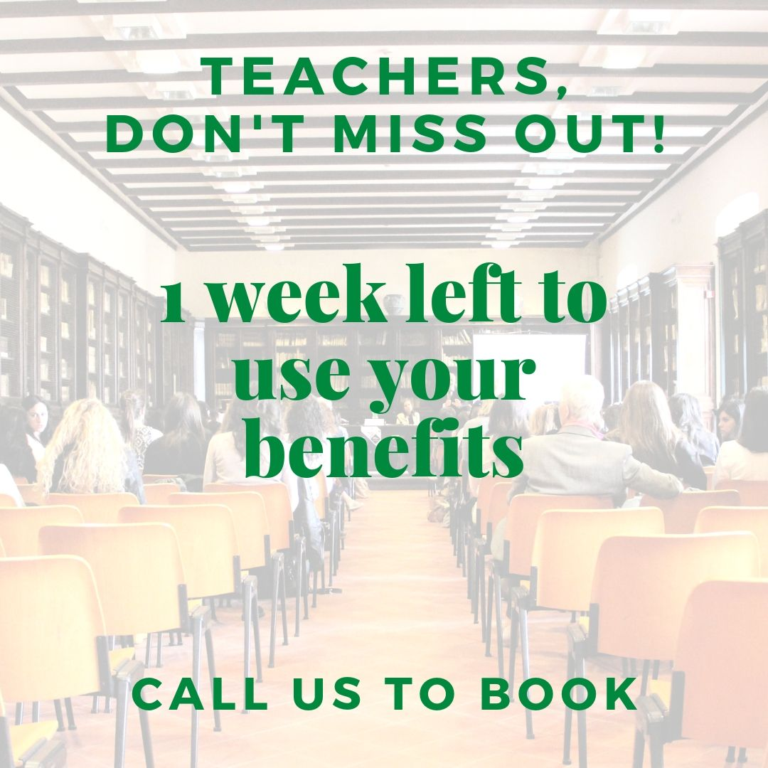 teachers, dont miss out!